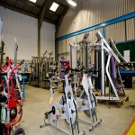Refitting Gym Facilities in Arlington 1