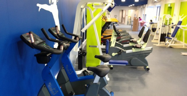 Part Ex Fitness Machines in Aberffrwd