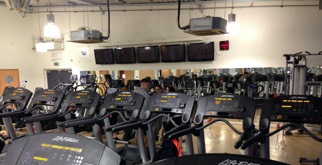 High School Gym Machines in Abberley