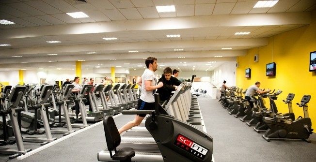 Commercial Gym Design in Hampshire