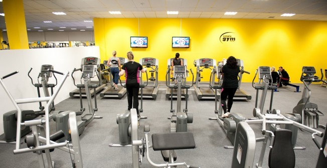 Commercial Gym Machines in Abshot