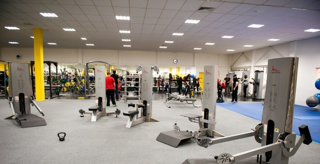 Commercial Gym Refurbishment in Acharacle/Ath-Tharracail