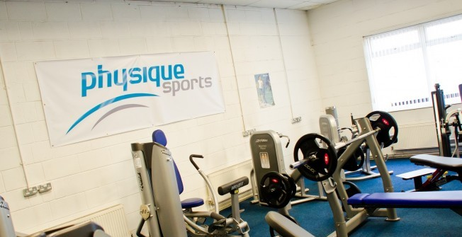 Schools Fitness Machines in Roughrigg