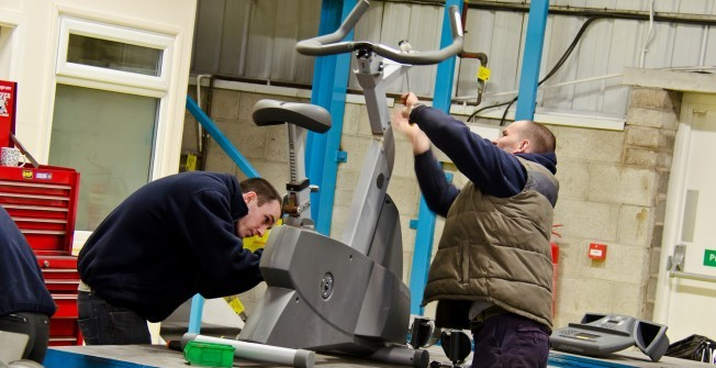 Remanufactured Fitness Equipment in Abermagwr